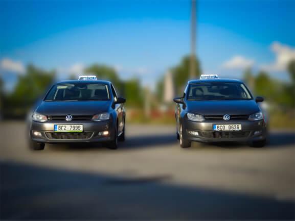 Autoškola Kadlec Vodňany - vozový park