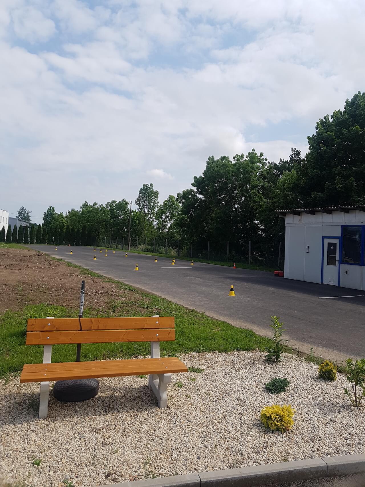 Autoškola Kadlec Vodňany - dráha